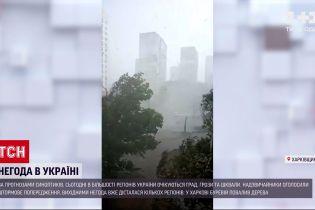 Погода в Украине: в большинстве регионов господствуют грозы и ливни со шквалами