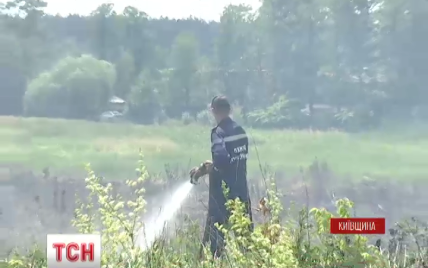Едкий дым под Киевом укладывает на больничные койки аллергиков и астматиков