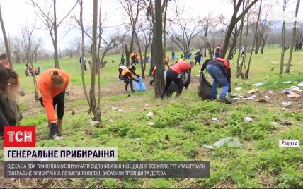 Не шкодуючи манікюру одеські депутати і чиновники влаштували генеральне прибирання міста