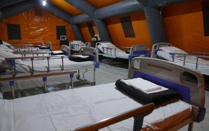 На Прикарпатті в мобільному COVID-госпіталі не залишилося жодного пацієнта