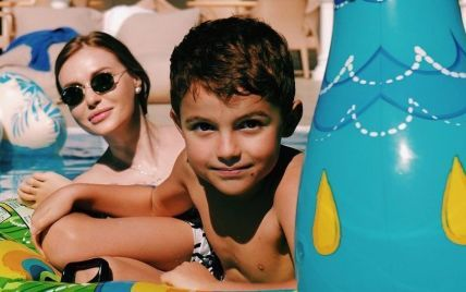 """Каминская призналась, что у ее 6-летнего сына есть девушка: """"Он уже даже с ней целовался"""""""