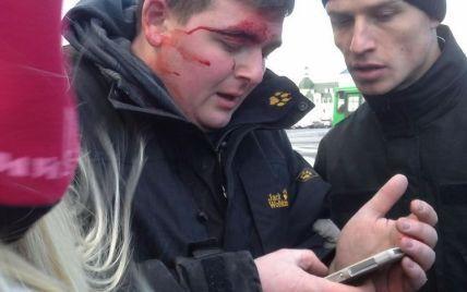 Четверо активістів постраждали у сутичках під міськрадою Харкова