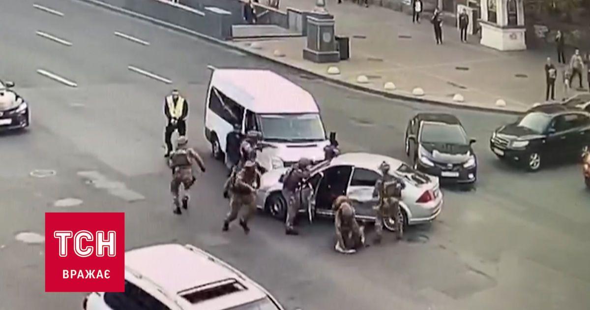 На Хрещатику в Києві затримали групу розбійників