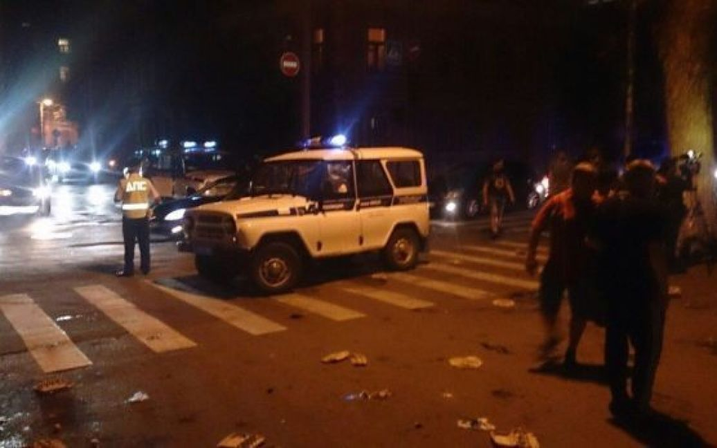 Российские правоохранители не комментируют случившееся / © vk.com/rostovnadonu