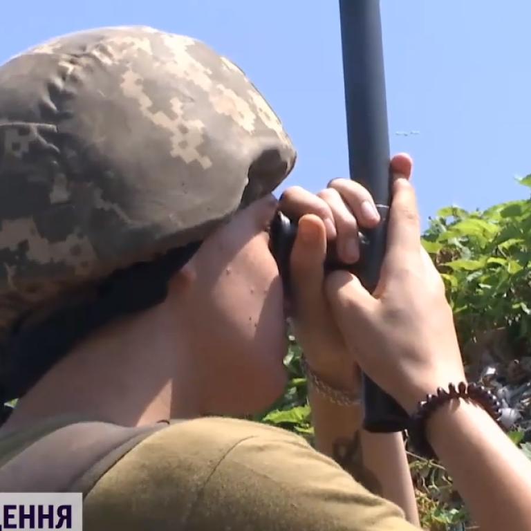 Бьют тяжелым калибром: оккупанты обстреляли украинские позиции севернее Донецка
