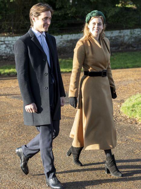 Принцеса Беатріс и Едоардо Мопеллі Моцці / © Getty Images