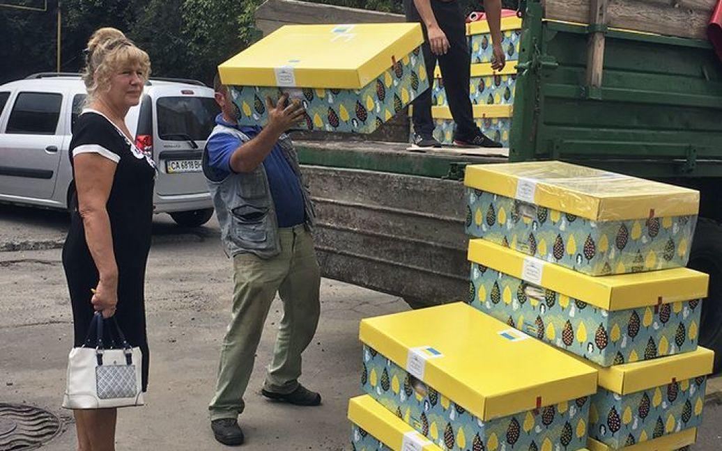 Доставка пакетов малыша в Умани / © Черкасская облгосадминистрация