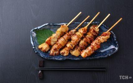 """Курица """"якитори"""": японские шашлыки на скорую руку"""