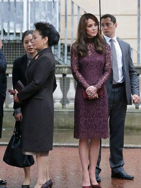 Герцогиня Кембриджская на мероприятии с председателем КНР / © Getty Images