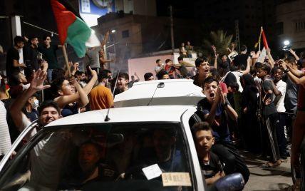 Стреляли в воздух и запускали салюты: как праздновали прекращение огня между Израилем и Сектором Газа