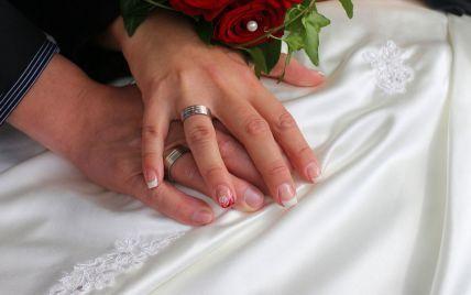 Стало відомо, скільки пар одружилися в Україні у День святого Валентина