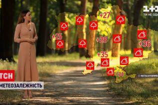 Погода в Украине: восточные области будут страдать от жары, а на западе и севере температура спадет