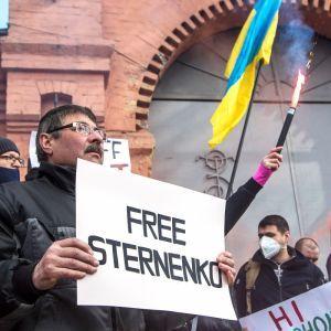 В Киеве стартовала акция в поддержку Сергея Стерненко