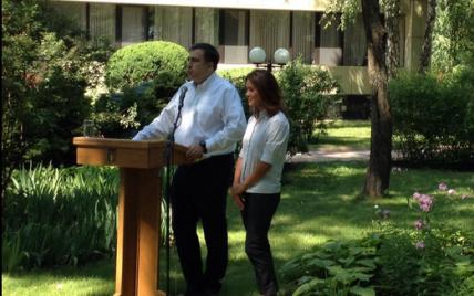 Саакашвили объяснил, почему его новая заместительница не ответила, с кем воюет Украина