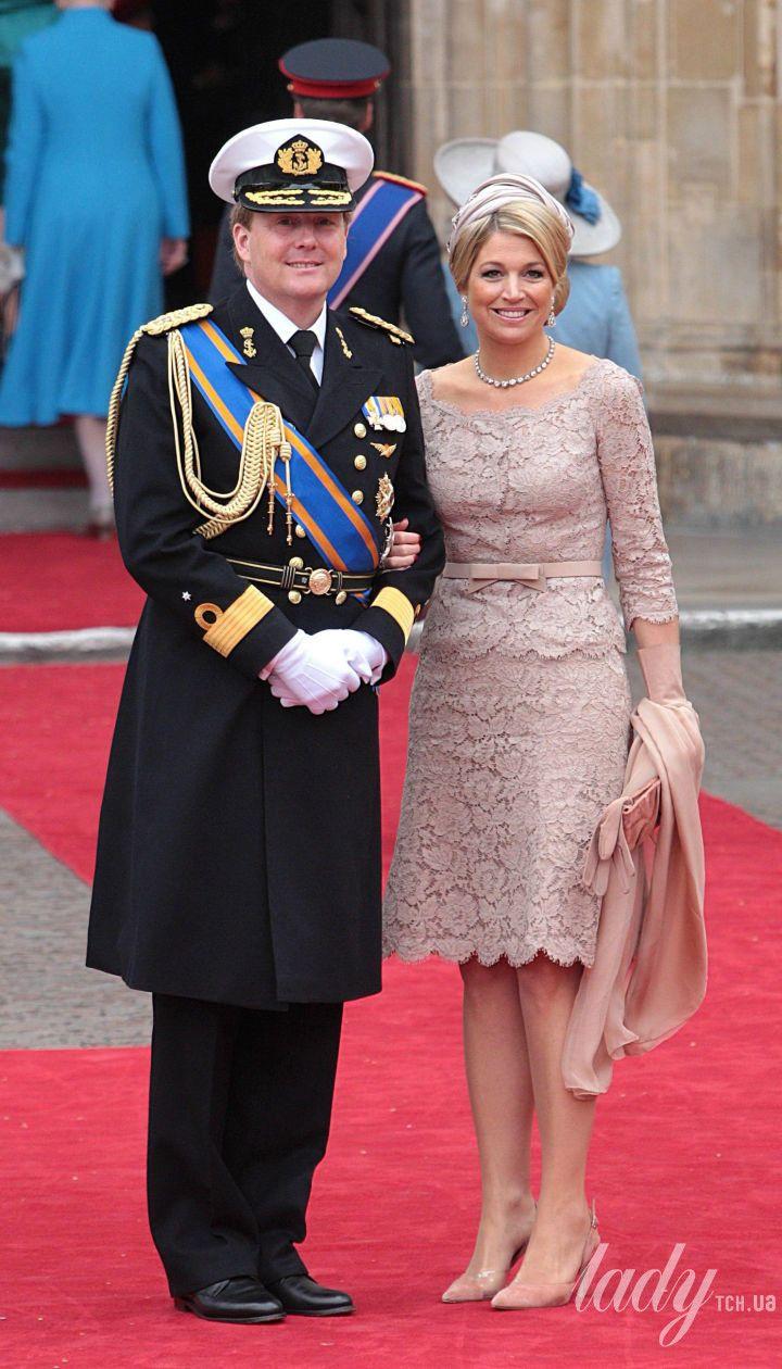 Король Віллем-Олександр і королева Максима / © Associated Press