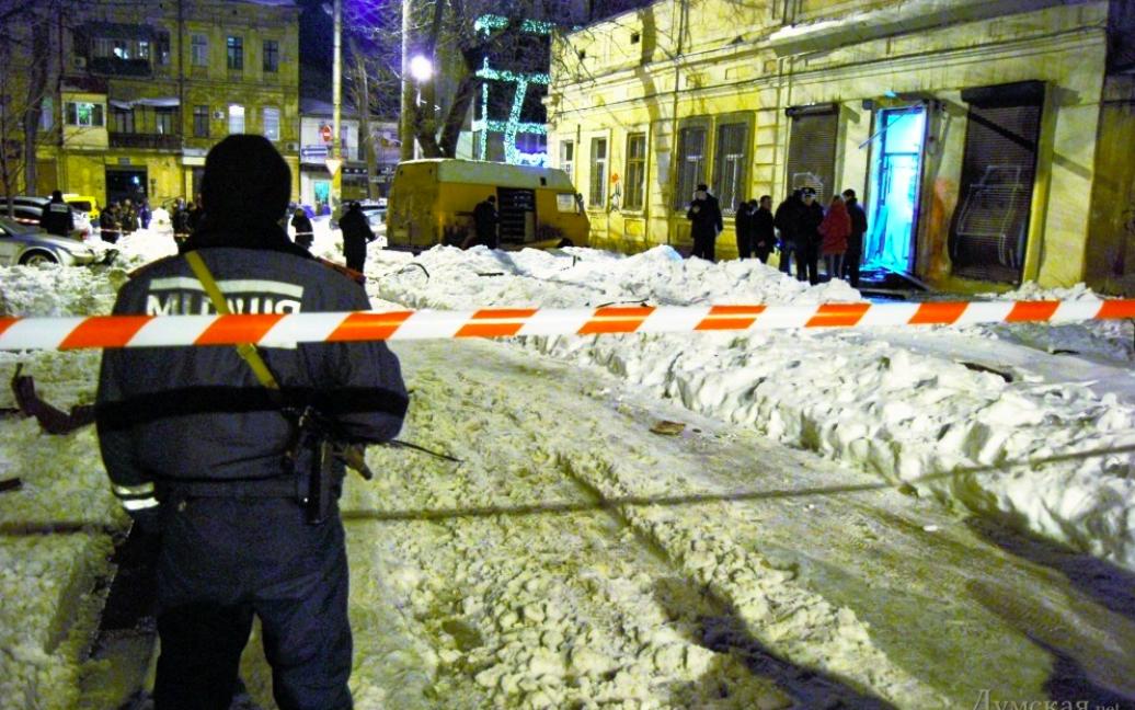 Друзки після вибуху розкидані в радіусі 13 метрів / © фото Сергія Діброва