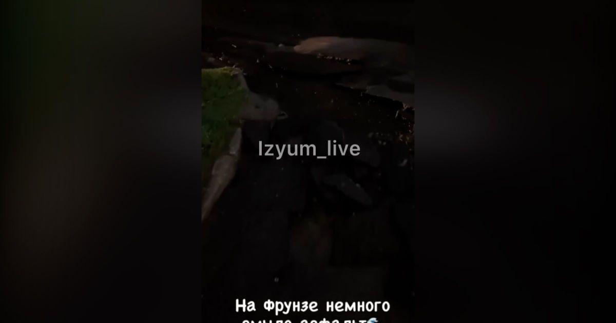 В Харьковской области ливень разрушил дороги