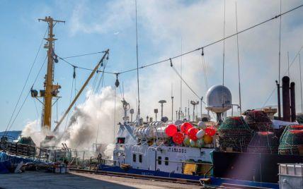 Російський траулер загорівся у норвезькому порту: подробиці