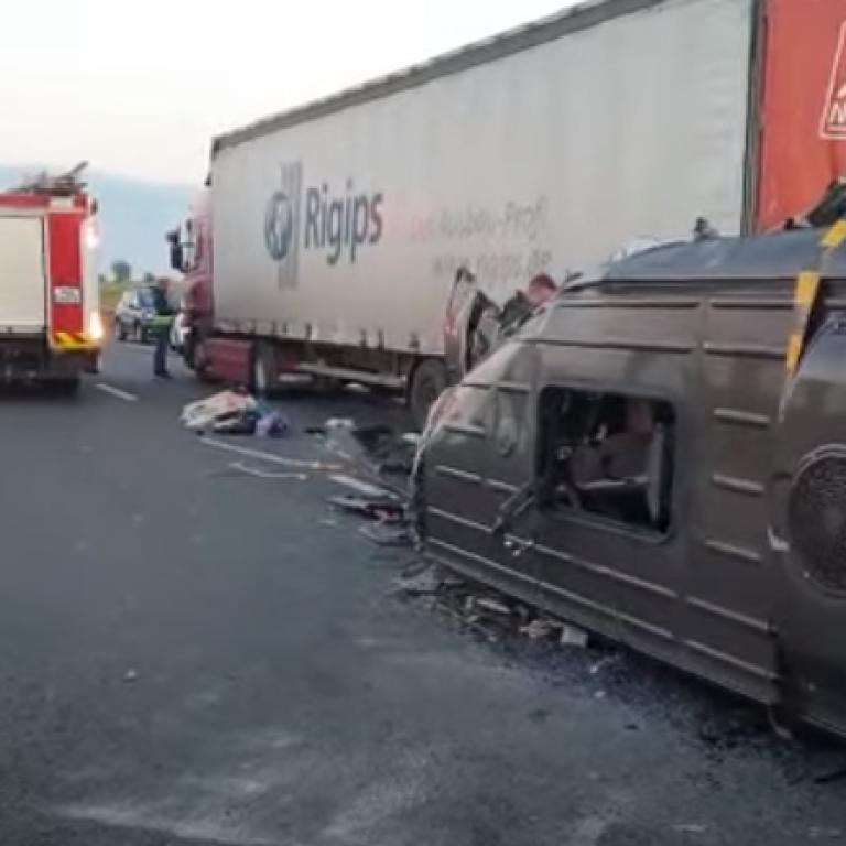 ДТП з українцями в Румунії: водія автобуса затримали