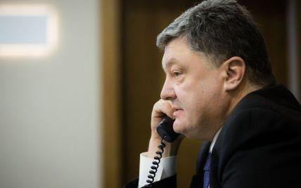 Ескалація на Донбасі і безвіз: про що Порошенко говорив телефоном із новим президентом Німеччини