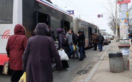 У Києві несподівано скасували сім автобусних, тролейбусних і трамвайних маршрутів
