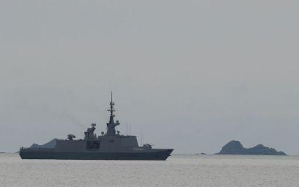 У Чорному морі затонуло судно з українськими моряками: з'явилося відео аварії