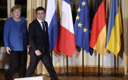 Без рукостискання та із соціальною дистанцією: як у Берліні минула зустріч Меркель і Зеленського