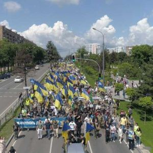 Мариуполь празднует день освобождения от российской оккупации