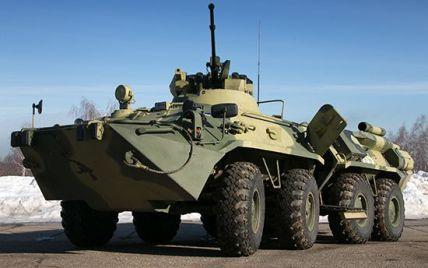 На Донбассе произошла авария с БТР, погиб военный