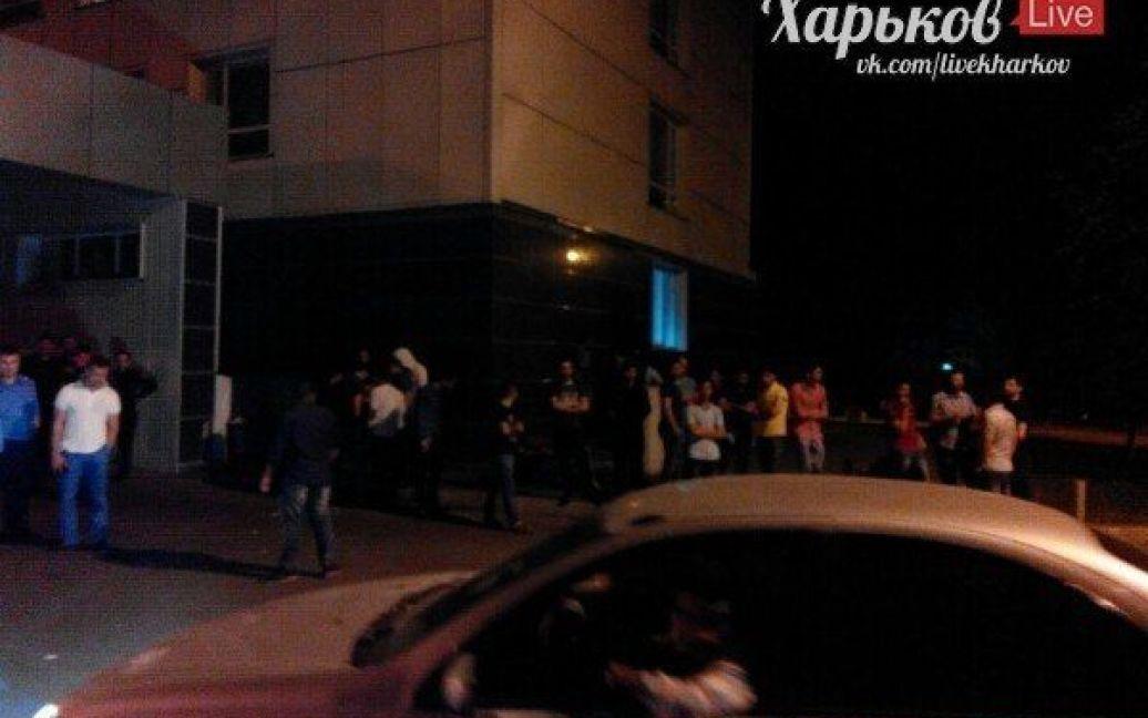 В Харькове неизвестные устроили резню. / © ВКонтакте/Харьков live