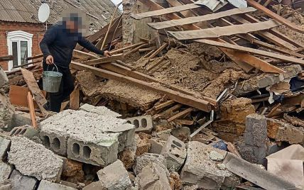 Залишилися суцільні руїни: під Запоріжжям чоловік підірвав 2-поверховий будинок, намагаючись скоїти самогубство (фото)
