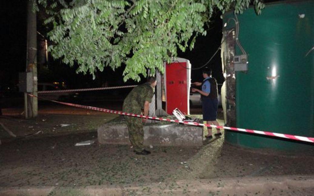 В милиции сообщили подробности взрывов / © Пресс-служба МВД в Одесской области