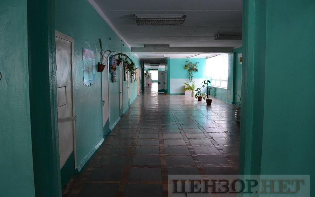 """Школа в Кировоградской области, где ранее учился """"Вагнер"""" / © Цензор.нет"""