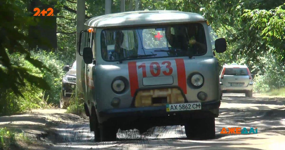 Харьковские дороги в качестве еще одной болезни, с которой борется местная скорая помощь