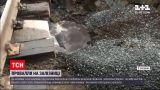 Новини України: на Буковині під залізничною колією утворилося провалля