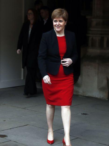 Первый министр Шотландии Никола Стерджен / © Associated Press