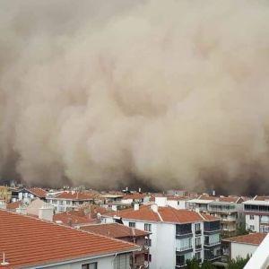 Столицю Туреччини накрила велика пилова буря