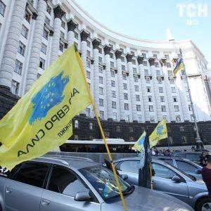 """Попри підписаний закон: суди штрафують """"євробляхерів"""" на 170 тисяч грн"""