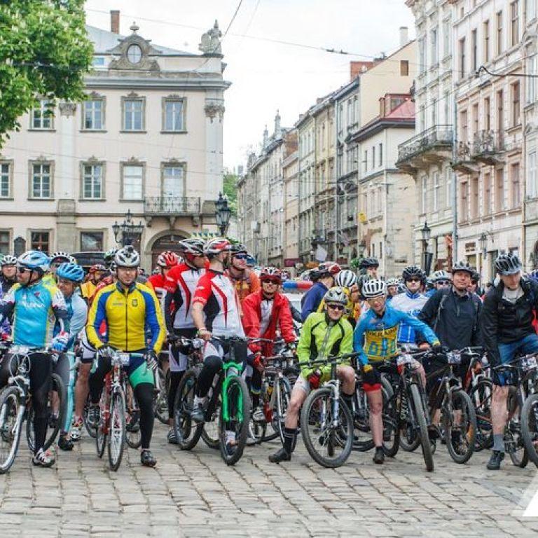 100 километров за 10 часов: во Львове пройдет масштабный веломарафон, будут перекрывать движение транспорта