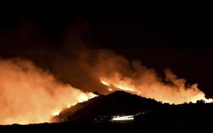 Лесные пожары добрались еще одной курортной страны (видео)