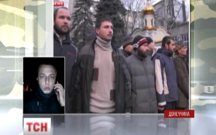 В Мережі з'явилося відео, як полонених українських бійців відправляли додому