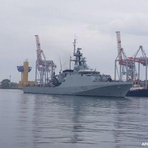 В Міноборони пояснили, навіщо патрульний корабель Великої Британії прибув до Одеси