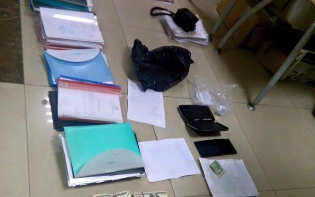 Взятки задержанных чиновников / © facebook/Davit Sakvarelidze