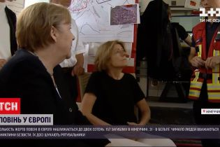 Новини світу: Ангела Меркель відвідала регіони, які зазнали найбільших збитків від негоди