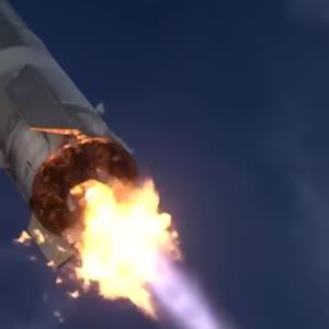 Прототип космического корабля SpaceX для полетов на Марс и Луну взорвался после посадки: видео