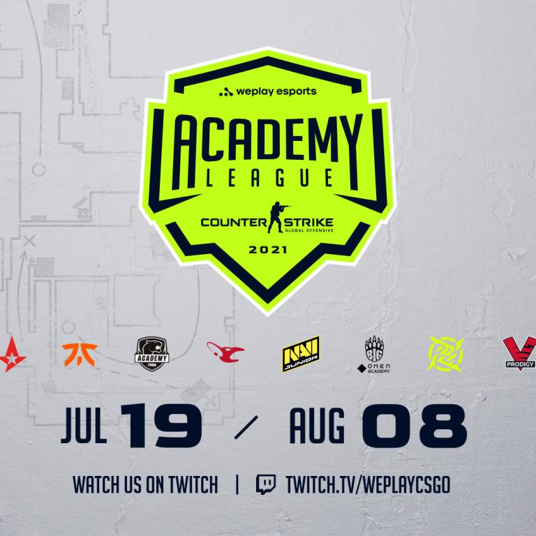 На WePlay Academy League для молодежных составов по CS:GO разыграют $100 000