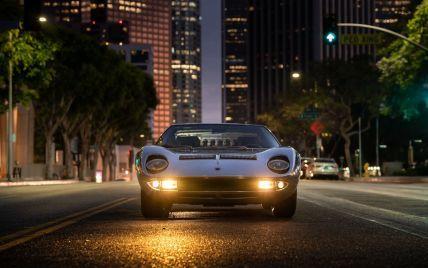 На продаж виставили рідкісну Lamborghini, яка 40 років простояла в гаражі та має досить цікаву історію