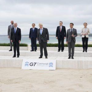"""""""Сторона конфликта на Донбассе"""": лидеры G7 призвали Россию отвести войска от границ Украины"""