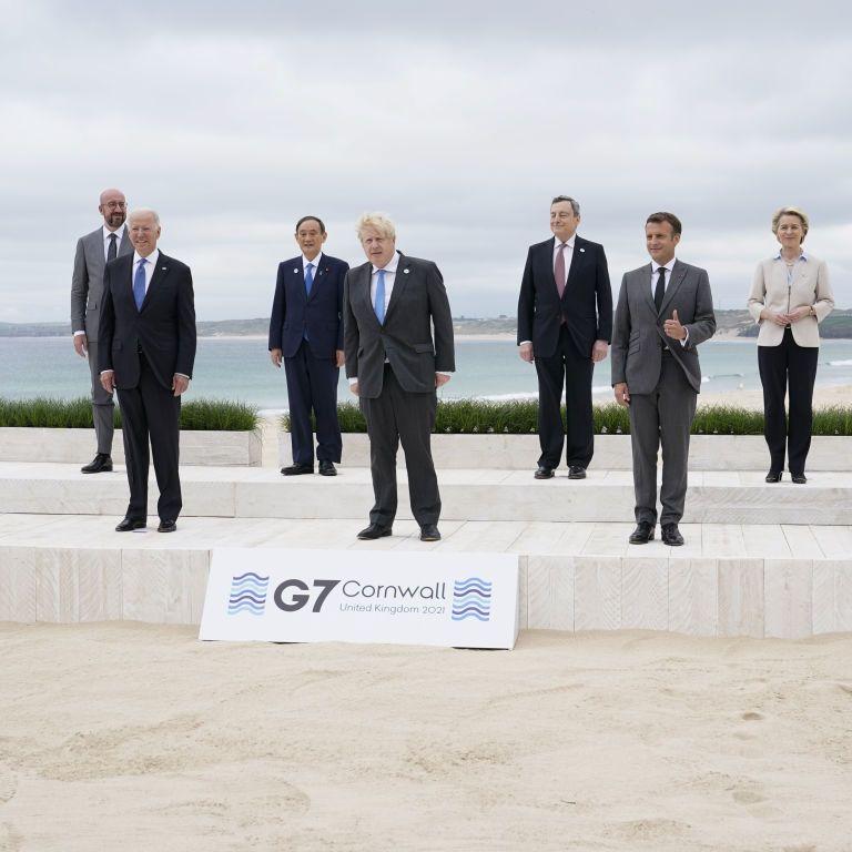 Елітна фотосесія лідерів країн, які контролюють світ: як відбувається перша від початку пандемії зустріч G7