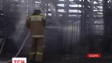На трассе Киев-Одесса во время движения загорелся грузовик